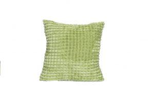 Almofada aveludada verde