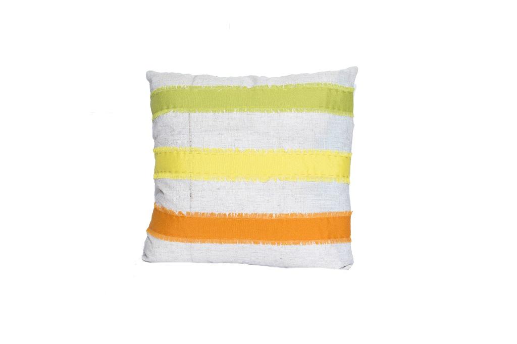 Almofadas de algodão coloridas