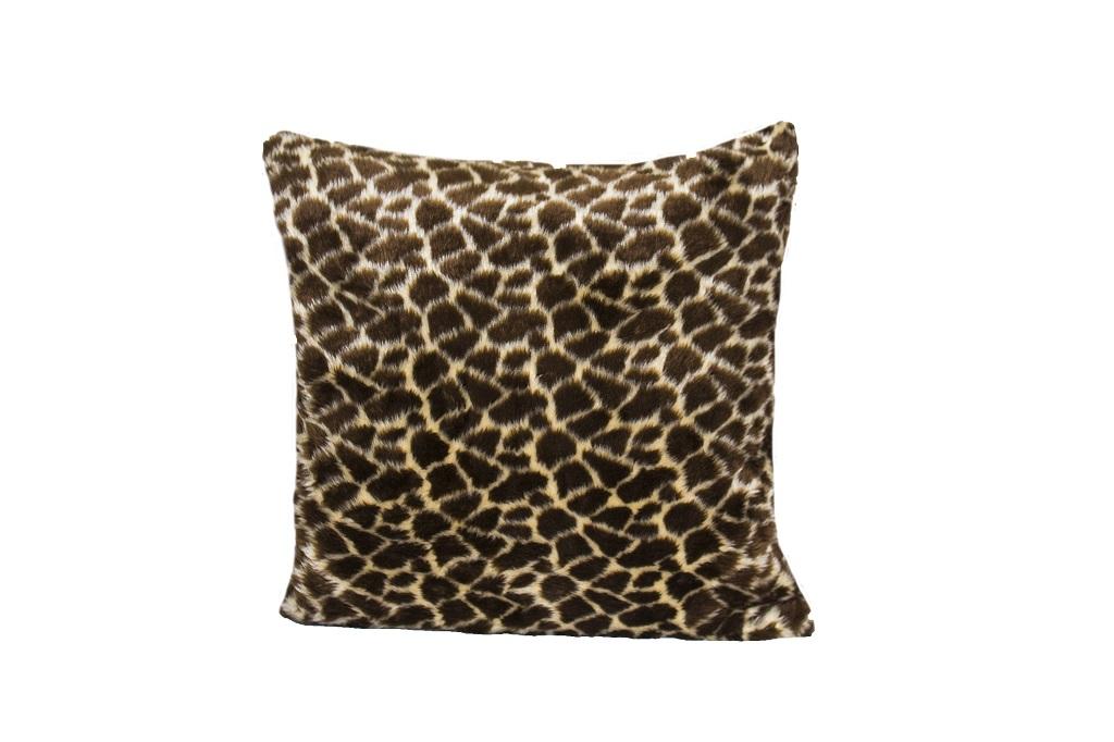 Almofadas de pelúcia girafa